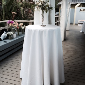Cocktail Table with cloth