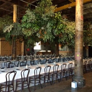 Wedding with Benton Chairs