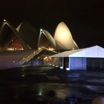 Marquee at Sydney Opera House