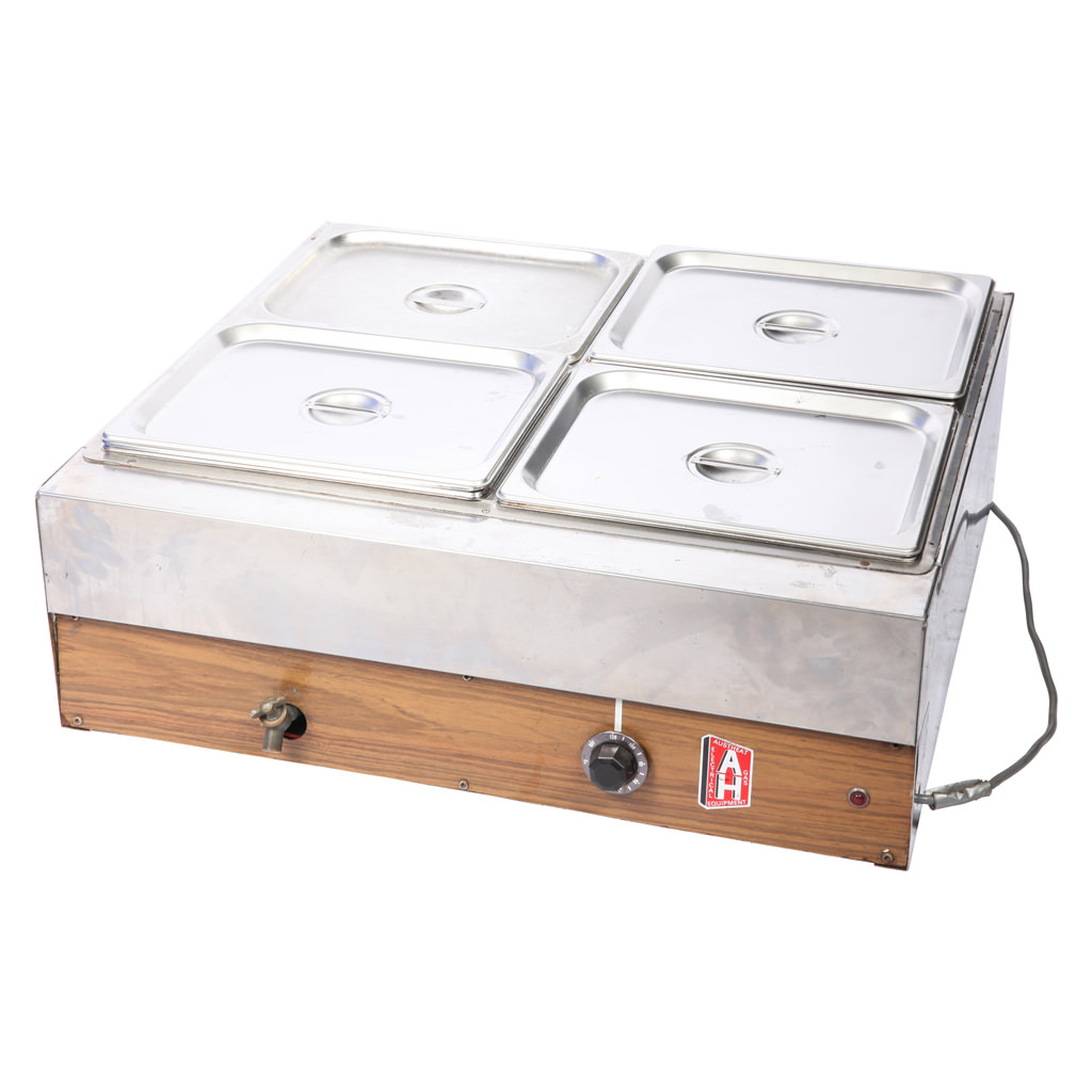 Bain marie 4 pots for Cuisson four bain marie