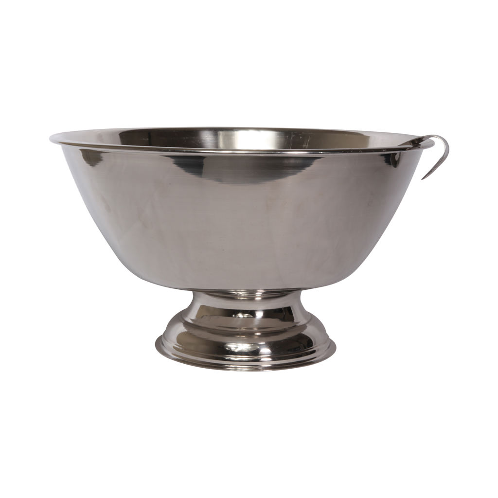 Stainless Steel Punch Bowl With Laddle 10l