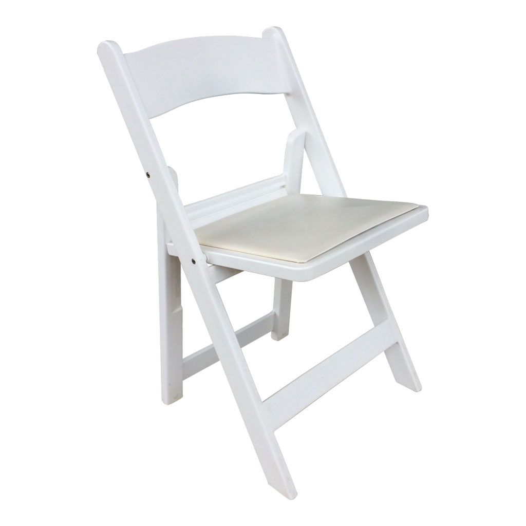 White Italian Folding Chair