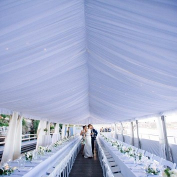 large wedding marquee hire